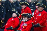 Remembrance Sunday at the Cenotaph 2015: Group B43, Royal Hospital Chelsea. Cenotaph, Whitehall, London SW1, London, Greater London, United Kingdom, on 08 November 2015 at 11:45, image #345