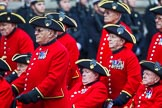 Remembrance Sunday at the Cenotaph 2015: Group B43, Royal Hospital Chelsea. Cenotaph, Whitehall, London SW1, London, Greater London, United Kingdom, on 08 November 2015 at 11:45, image #346