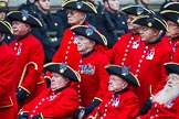 Remembrance Sunday at the Cenotaph 2015: Group B43, Royal Hospital Chelsea. Cenotaph, Whitehall, London SW1, London, Greater London, United Kingdom, on 08 November 2015 at 11:45, image #347