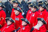 Remembrance Sunday at the Cenotaph 2015: Group B43, Royal Hospital Chelsea. Cenotaph, Whitehall, London SW1, London, Greater London, United Kingdom, on 08 November 2015 at 11:45, image #348