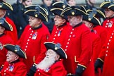 Remembrance Sunday at the Cenotaph 2015: Group B43, Royal Hospital Chelsea. Cenotaph, Whitehall, London SW1, London, Greater London, United Kingdom, on 08 November 2015 at 11:45, image #349