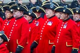 Remembrance Sunday at the Cenotaph 2015: Group B43, Royal Hospital Chelsea. Cenotaph, Whitehall, London SW1, London, Greater London, United Kingdom, on 08 November 2015 at 11:45, image #350