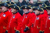 Remembrance Sunday at the Cenotaph 2015: Group B43, Royal Hospital Chelsea. Cenotaph, Whitehall, London SW1, London, Greater London, United Kingdom, on 08 November 2015 at 11:45, image #351