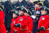 Remembrance Sunday at the Cenotaph 2015: Group B43, Royal Hospital Chelsea. Cenotaph, Whitehall, London SW1, London, Greater London, United Kingdom, on 08 November 2015 at 11:45, image #353