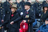 Remembrance Sunday at the Cenotaph 2015: Group B44, Queen Alexandra's Hospital Home for Disabled Ex-Servicemen & Women. Cenotaph, Whitehall, London SW1, London, Greater London, United Kingdom, on 08 November 2015 at 11:45, image #357