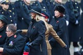 Remembrance Sunday at the Cenotaph 2015: Group B44, Queen Alexandra's Hospital Home for Disabled Ex-Servicemen & Women. Cenotaph, Whitehall, London SW1, London, Greater London, United Kingdom, on 08 November 2015 at 11:45, image #360