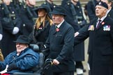 Remembrance Sunday at the Cenotaph 2015: Group B44, Queen Alexandra's Hospital Home for Disabled Ex-Servicemen & Women. Cenotaph, Whitehall, London SW1, London, Greater London, United Kingdom, on 08 November 2015 at 11:45, image #363