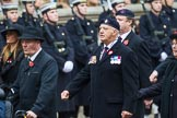 Remembrance Sunday at the Cenotaph 2015: Group B44, Queen Alexandra's Hospital Home for Disabled Ex-Servicemen & Women. Cenotaph, Whitehall, London SW1, London, Greater London, United Kingdom, on 08 November 2015 at 11:45, image #364