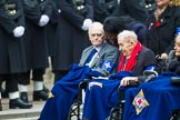 Remembrance Sunday at the Cenotaph 2015: Group B45, The Royal Star & Garter Homes. Cenotaph, Whitehall, London SW1, London, Greater London, United Kingdom, on 08 November 2015 at 11:45, image #366