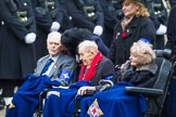 Remembrance Sunday at the Cenotaph 2015: Group B45, The Royal Star & Garter Homes. Cenotaph, Whitehall, London SW1, London, Greater London, United Kingdom, on 08 November 2015 at 11:45, image #367
