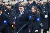 Remembrance Sunday at the Cenotaph 2015: Group B45, The Royal Star & Garter Homes. Cenotaph, Whitehall, London SW1, London, Greater London, United Kingdom, on 08 November 2015 at 11:45, image #370