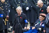 Remembrance Sunday at the Cenotaph 2015: Group B45, The Royal Star & Garter Homes. Cenotaph, Whitehall, London SW1, London, Greater London, United Kingdom, on 08 November 2015 at 11:45, image #371