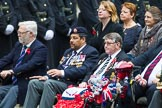Remembrance Sunday at the Cenotaph 2015: Group B46, Combat Stress. Cenotaph, Whitehall, London SW1, London, Greater London, United Kingdom, on 08 November 2015 at 11:46, image #375