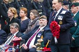 Remembrance Sunday at the Cenotaph 2015: Group B46, Combat Stress. Cenotaph, Whitehall, London SW1, London, Greater London, United Kingdom, on 08 November 2015 at 11:46, image #377