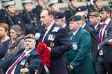 Remembrance Sunday at the Cenotaph 2015: Group B46, Combat Stress. Cenotaph, Whitehall, London SW1, London, Greater London, United Kingdom, on 08 November 2015 at 11:46, image #378