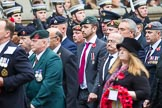 Remembrance Sunday at the Cenotaph 2015: Group B46, Combat Stress. Cenotaph, Whitehall, London SW1, London, Greater London, United Kingdom, on 08 November 2015 at 11:46, image #379