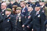 Remembrance Sunday at the Cenotaph 2015: Group B46, Combat Stress. Cenotaph, Whitehall, London SW1, London, Greater London, United Kingdom, on 08 November 2015 at 11:46, image #382