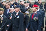 Remembrance Sunday at the Cenotaph 2015: Group B46, Combat Stress. Cenotaph, Whitehall, London SW1, London, Greater London, United Kingdom, on 08 November 2015 at 11:46, image #383