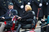 Remembrance Sunday at the Cenotaph 2015: Group B46, Combat Stress. Cenotaph, Whitehall, London SW1, London, Greater London, United Kingdom, on 08 November 2015 at 11:46, image #388