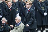 Remembrance Sunday at the Cenotaph 2015: Group B46, Combat Stress. Cenotaph, Whitehall, London SW1, London, Greater London, United Kingdom, on 08 November 2015 at 11:46, image #391