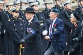 Remembrance Sunday at the Cenotaph 2015: Group C1, Royal Air Forces Association. Cenotaph, Whitehall, London SW1, London, Greater London, United Kingdom, on 08 November 2015 at 11:46, image #392