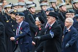 Remembrance Sunday at the Cenotaph 2015: Group C1, Royal Air Forces Association. Cenotaph, Whitehall, London SW1, London, Greater London, United Kingdom, on 08 November 2015 at 11:46, image #393