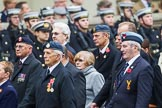 Remembrance Sunday at the Cenotaph 2015: Group C1, Royal Air Forces Association. Cenotaph, Whitehall, London SW1, London, Greater London, United Kingdom, on 08 November 2015 at 11:46, image #396