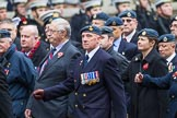 Remembrance Sunday at the Cenotaph 2015: Group C1, Royal Air Forces Association. Cenotaph, Whitehall, London SW1, London, Greater London, United Kingdom, on 08 November 2015 at 11:46, image #399