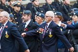 Remembrance Sunday at the Cenotaph 2015: Group C1, Royal Air Forces Association. Cenotaph, Whitehall, London SW1, London, Greater London, United Kingdom, on 08 November 2015 at 11:46, image #402