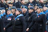 Remembrance Sunday at the Cenotaph 2015: Group C1, Royal Air Forces Association. Cenotaph, Whitehall, London SW1, London, Greater London, United Kingdom, on 08 November 2015 at 11:46, image #405