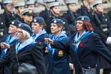 Remembrance Sunday at the Cenotaph 2015: Group C1, Royal Air Forces Association. Cenotaph, Whitehall, London SW1, London, Greater London, United Kingdom, on 08 November 2015 at 11:46, image #408