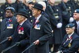 Remembrance Sunday at the Cenotaph 2015: C2, Royal Air Force Regiment Association. Cenotaph, Whitehall, London SW1, London, Greater London, United Kingdom, on 08 November 2015 at 11:47, image #412