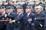 Remembrance Sunday at the Cenotaph 2015: C2, Royal Air Force Regiment Association. Cenotaph, Whitehall, London SW1, London, Greater London, United Kingdom, on 08 November 2015 at 11:47, image #416