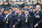 Remembrance Sunday at the Cenotaph 2015: C2, Royal Air Force Regiment Association. Cenotaph, Whitehall, London SW1, London, Greater London, United Kingdom, on 08 November 2015 at 11:47, image #420