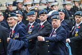 Remembrance Sunday at the Cenotaph 2015: C2, Royal Air Force Regiment Association. Cenotaph, Whitehall, London SW1, London, Greater London, United Kingdom, on 08 November 2015 at 11:47, image #423