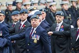 Remembrance Sunday at the Cenotaph 2015: C2, Royal Air Force Regiment Association. Cenotaph, Whitehall, London SW1, London, Greater London, United Kingdom, on 08 November 2015 at 11:47, image #424