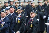 Remembrance Sunday at the Cenotaph 2015: C2, Royal Air Force Regiment Association. Cenotaph, Whitehall, London SW1, London, Greater London, United Kingdom, on 08 November 2015 at 11:47, image #425
