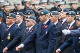 Remembrance Sunday at the Cenotaph 2015: C2, Royal Air Force Regiment Association. Cenotaph, Whitehall, London SW1, London, Greater London, United Kingdom, on 08 November 2015 at 11:47, image #429