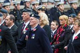 Remembrance Sunday at the Cenotaph 2015: C2, Royal Air Force Regiment Association. Cenotaph, Whitehall, London SW1, London, Greater London, United Kingdom, on 08 November 2015 at 11:47, image #432