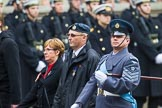 Remembrance Sunday at the Cenotaph 2015: C2, Royal Air Force Regiment Association. Cenotaph, Whitehall, London SW1, London, Greater London, United Kingdom, on 08 November 2015 at 11:47, image #437