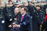 Remembrance Sunday at the Cenotaph 2015: Group C3, Royal Air Forces Ex-Prisoner's of War Association. Cenotaph, Whitehall, London SW1, London, Greater London, United Kingdom, on 08 November 2015 at 11:47, image #439