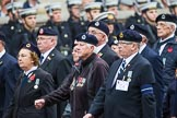 Remembrance Sunday at the Cenotaph 2015: Group C4, Royal Observer Corps Association (Anniversary). Cenotaph, Whitehall, London SW1, London, Greater London, United Kingdom, on 08 November 2015 at 11:47, image #443