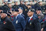 Remembrance Sunday at the Cenotaph 2015: Group C4, Royal Observer Corps Association (Anniversary). Cenotaph, Whitehall, London SW1, London, Greater London, United Kingdom, on 08 November 2015 at 11:48, image #448