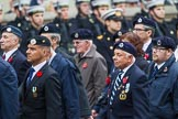 Remembrance Sunday at the Cenotaph 2015: Group C4, Royal Observer Corps Association (Anniversary). Cenotaph, Whitehall, London SW1, London, Greater London, United Kingdom, on 08 November 2015 at 11:48, image #449