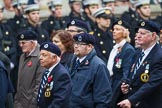 Remembrance Sunday at the Cenotaph 2015: Group C4, Royal Observer Corps Association (Anniversary). Cenotaph, Whitehall, London SW1, London, Greater London, United Kingdom, on 08 November 2015 at 11:48, image #450
