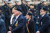 Remembrance Sunday at the Cenotaph 2015: Group C4, Royal Observer Corps Association (Anniversary). Cenotaph, Whitehall, London SW1, London, Greater London, United Kingdom, on 08 November 2015 at 11:48, image #452