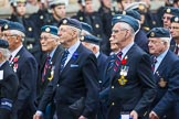 Remembrance Sunday at the Cenotaph 2015: Group C5, National Service (Royal Air Force) Association. Cenotaph, Whitehall, London SW1, London, Greater London, United Kingdom, on 08 November 2015 at 11:48, image #459
