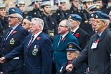 Remembrance Sunday at the Cenotaph 2015: Group C6, RAFLING Association. Cenotaph, Whitehall, London SW1, London, Greater London, United Kingdom, on 08 November 2015 at 11:48, image #466
