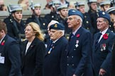 Remembrance Sunday at the Cenotaph 2015: Group C7, 6 Squadron (Royal Air Force) Association. Cenotaph, Whitehall, London SW1, London, Greater London, United Kingdom, on 08 November 2015 at 11:48, image #474