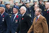 Remembrance Sunday at the Cenotaph 2015: Group C8, 7 Squadron Association. Cenotaph, Whitehall, London SW1, London, Greater London, United Kingdom, on 08 November 2015 at 11:48, image #475